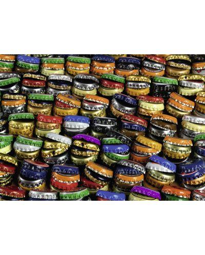Пъзел Ravensburger от 1000 части - Цветни капачки - 2