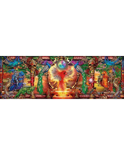 Панорамен пъзел Schmidt от 1000 части - Царството на огнената птица, Чиро Марчети - 2