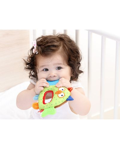 Бебешка гризалка Sigikid Activity – Бухалче - 2