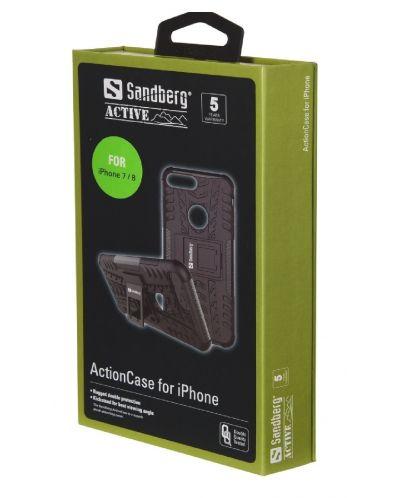 Калъф за iPhone 7/8 Sandberg - ActionCase, черен - 2