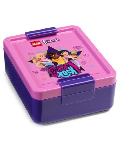 Комплект бутилка и кутия за храна Lego Friends Lunch - Girls Rock - 2