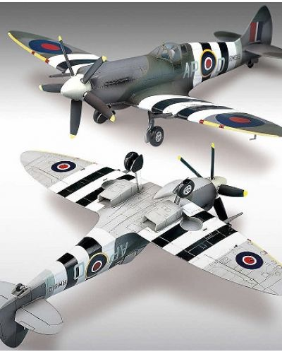 Военен самолет Academy Spitfire MK. XIVc (12274) - 2