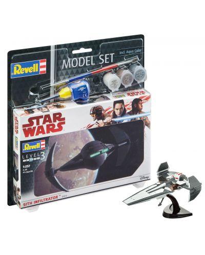 Сглобяем модел Revell - Sith Infiltrator - 2