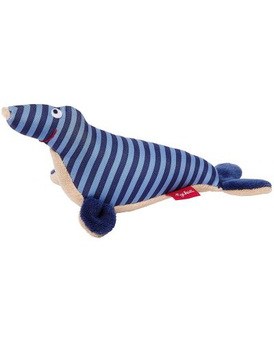 Мека бебешка дрънкалка Sigikid Toy Ahoi – Тюленче - 1