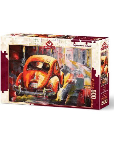 Пъзел Art Puzzle от 500 части - Бийтлинг, Миодраг Момчилович - 1