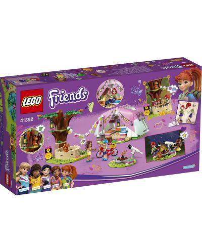 Конструктор Lego Friends - Луксозен къмпинг сред природата (41392) - 2
