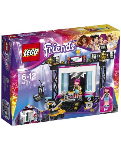 Конструктор Lego Friends - Поп стар ТВ студио (41117) - 1