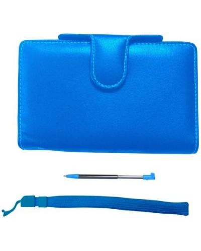 Pair&Go Luxury Protector Case Pack Blue (3DS) - 1