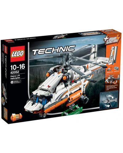 Конструктор Lego Technic - Тежкотоварен хеликоптер (42052) - 1