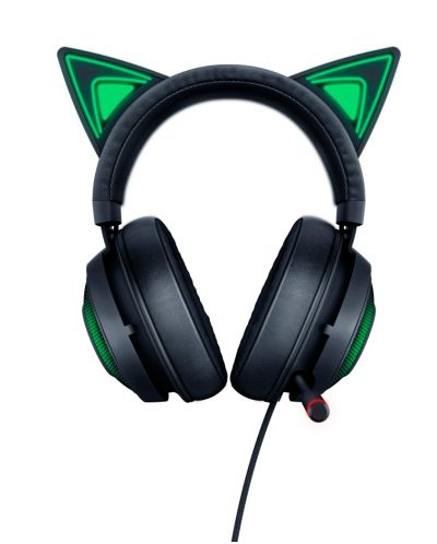 Гейминг слушалки Razer Kraken Kitty Ed. - черни - 2