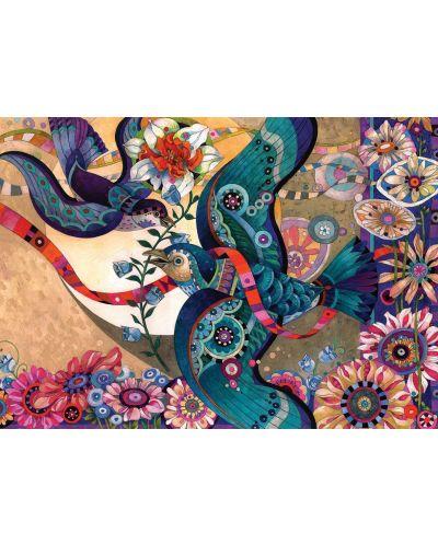 Пъзел Art Puzzle от 260 части - Птиците, Дейвид Галчът - 2