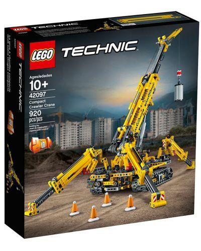 Конструктор Lego Technic - Компактен верижен кран (42097) - 1