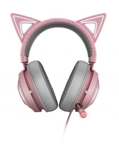 Гейминг слушалки Razer Kraken Kitty Ed. - Quartz - 2