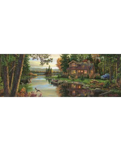 Панорамен пъзел Art Puzzle от 1000 части - Изкуството на мира, Ким Норлиен - 2