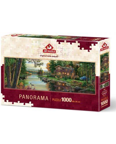 Панорамен пъзел Art Puzzle от 1000 части - Изкуството на мира, Ким Норлиен - 1