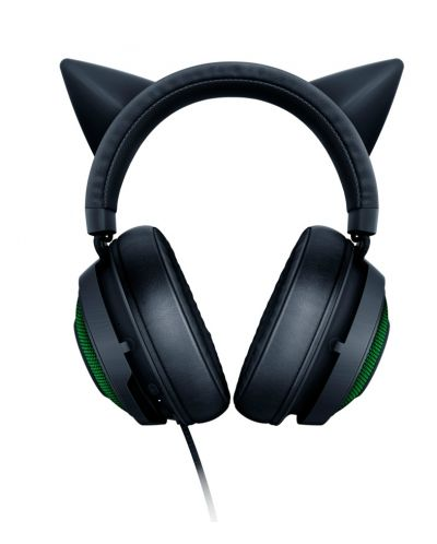 Гейминг слушалки Razer Kraken Kitty Ed. - черни - 4