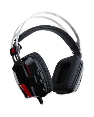 Гейминг слушалки Redragon - Lagopasmutus, черни - 2