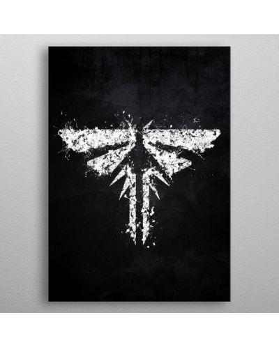 Метален постер Displate - The Last of us Firefly - 3