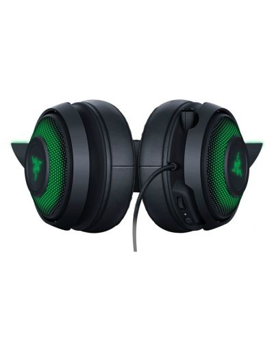 Гейминг слушалки Razer Kraken Kitty Ed. - черни - 5