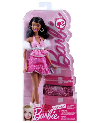 Барби с розова рокля - 2