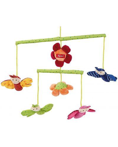 Бебешка въртележка за легло Sigikid Mobile – Пеперудки - 1