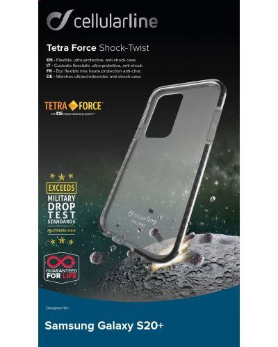 Усилен калъф Cellularline - Tetra, за Samsung Galaxy S20+ - 3