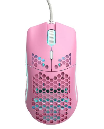 Гейминг мишка Glorious Odin - модел O, matte pink - 1