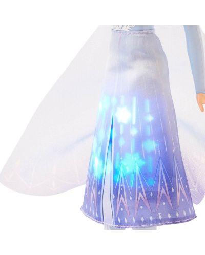 Кукла Hasbro Frozen 2 - Елза със светеща рокля - 3