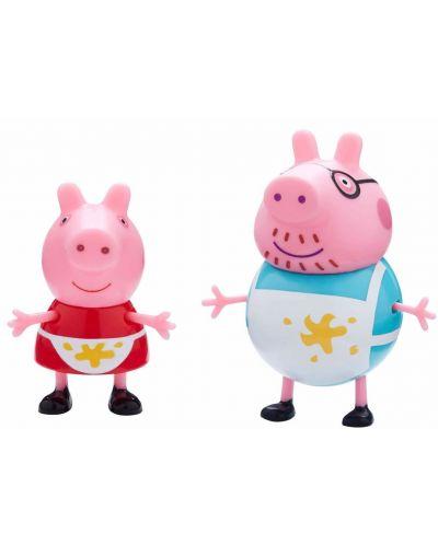 Комплект фигурки Peppa Pig - Kухня, с 2 фигурки - 2