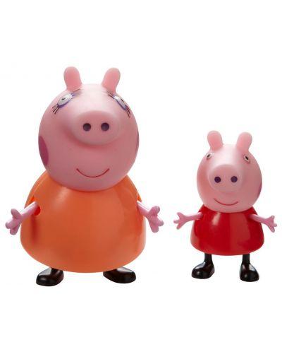 Комплект фигурки Peppa Pig - 2 фигурки с декор, асортимент - 6