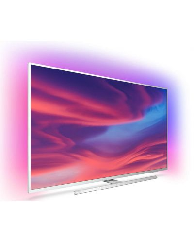 "Смарт телевизор Philips - 55PUS7304, 55"", 4K UHD LED, сребрист - 2"