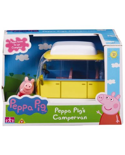 Комплект фигурки Peppa Pig - Превозно средство с фигурка, асортимент - 5