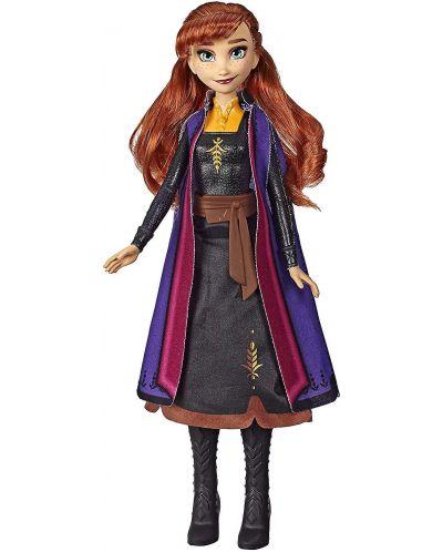 Кукла Hasbro Frozen 2 - Анна със светеща рокля - 2