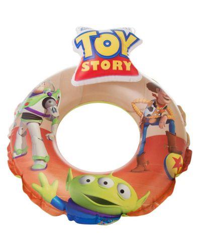 Детски надуваем комплект Disney Toy Story - Дюшек, пояс, раменки и топка - 5