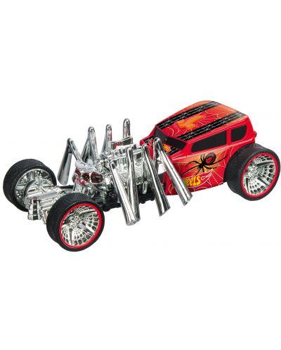 Количка-паяк Mondo Motors Hot Wheels - Street Creeper, със звук и светлина - 2