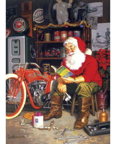 Пъзел Cobble Hill от 1000 части - Летящата машина на Дядо Коледа, Том Нюсъм - 2