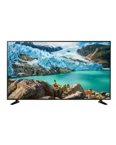 "Смарт телевизор Samsung - 50RU7092, 50"", 4K UHD LED, черен - 1"