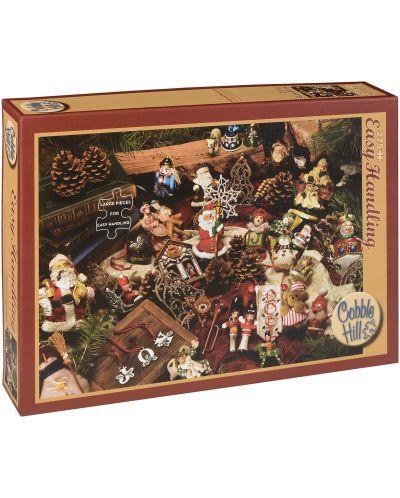 Пъзел Cobble Hill от 275 части - Коледни фигурки - 1