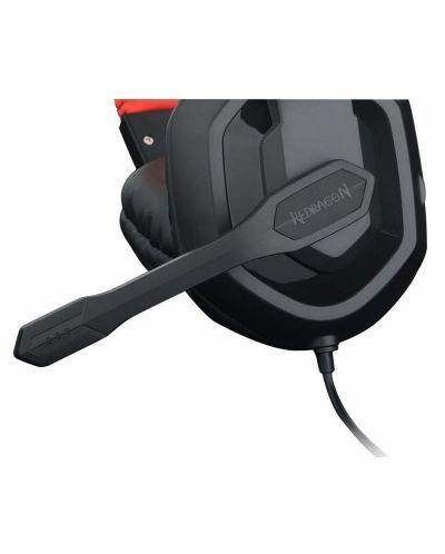 Гейминг слушалки Redragon - Ares H120-BK, черни - 3