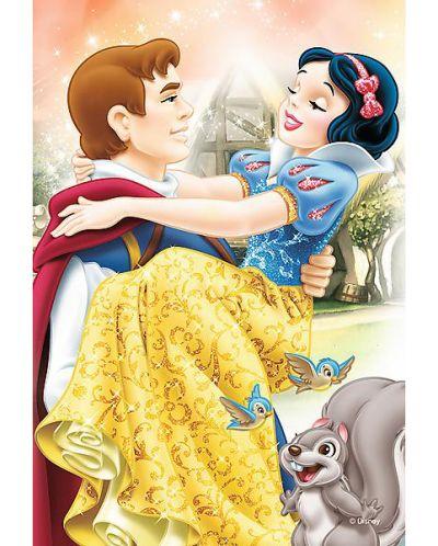 Мини пъзел Trefl от 54 части - Дисни принцеси, асортимент - 4