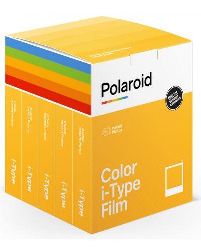 Филм Polaroid Color film for i-Type – x40 film pack - 1