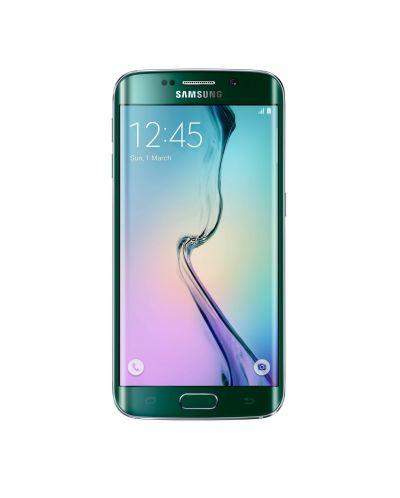 Samsung SM-G925 Galaxy S6 Edge 32GB - зелен - 1
