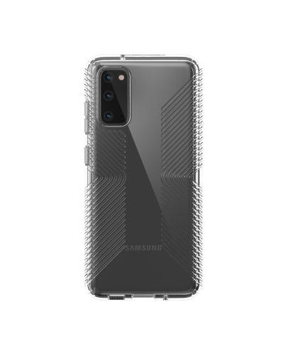 Калъф Speck - Clear grip за Samsung Galaxy S20, прозрачен - 1
