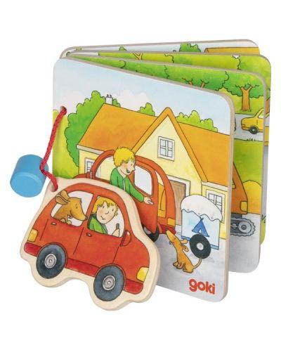 Дървена книжка Goki - На ваканция! - 1