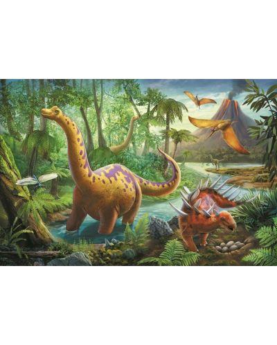 Пъзел Trefl от 60 части - Мигриращи Динозаври - 2