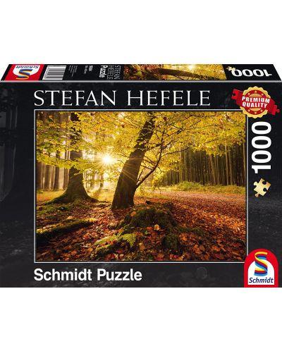Пъзел Schmidt от 1000 части - Есенна магия, Щефан Хефеле - 1