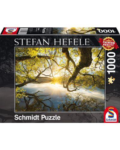Пъзел Schmidt от 1000 части - Златна прегръдка, Щефан Хефеле - 1