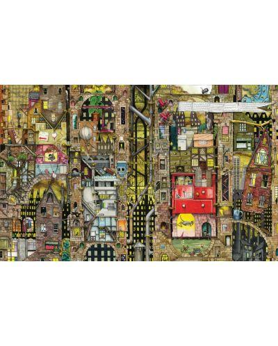 Пъзел Schmidt от 1000 части - Фантастичен град, Колин Томпсън - 2