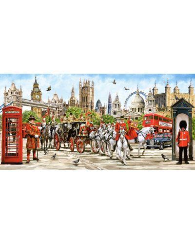 Панорамен пъзел Castorland от 4000 части - Гордостта на Лондон, Ричард Макнийл - 2