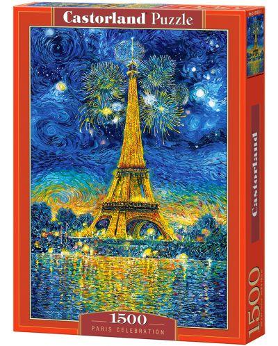 Пъзел Castorland от 1500 части - Празник в Париж - 1